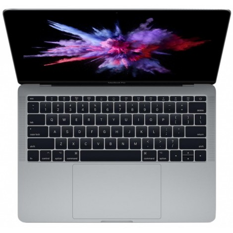 "Apple MacBook Pro 13 with Retina display Mid 2017 (MPXQ2LL) Space Gray (Intel Core i5 2300 MHz/13.3""/2560x1600/8Gb/128Gb SSD/DVD нет/Intel Iris Plus Graphics 640/Wi-Fi/Bluetooth/MacOS X)"