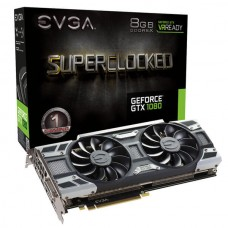 EVGA GeForce GTX 1080 SC2 GAMING, 08G-P4-6585-KR, 8GB 11GHz GDDR5X, iCX - 9 Thermal Sensors & LED G/P/M