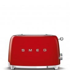 ТОСТЕР на 2 ломтика SMEG TSF01RDEU (Красный)
